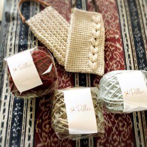 毛糸で作るスマホケース